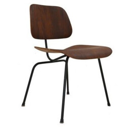 "Mid century Herman Miller ""DCM"" chair, Charles & Ray EAMES - 1940s"