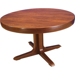 Rio Scandinavian rosewood table - 1950s