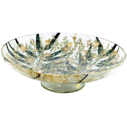 Mid-century bowl in decorative plexiglass - 1960s