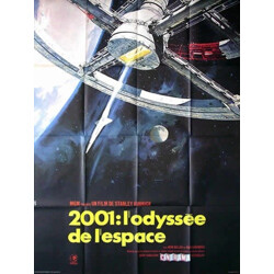 """Movie poster """"A Space Oddysey"""" - 2000s"""