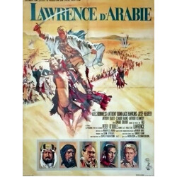 "Movie poster ""Lawrence of Arabia"" - 1960"