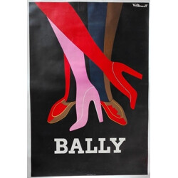 """Bally shoes"" vintage advertisment - 1970s"