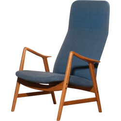 Swedish Ljungs Industrier lounge chair - 1950s