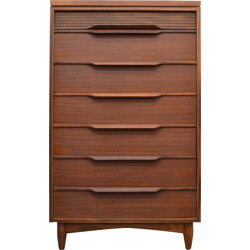 High White & Newton chest of drawers in teak - 1960s