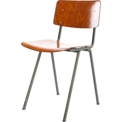 Set of 4 Dutch Marko school chairs - 1960s