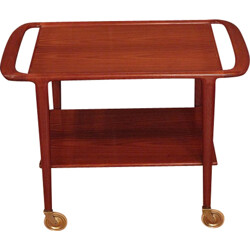 "Bar cart ""model 44"" in teak, Niels MOLLER - 1950s"