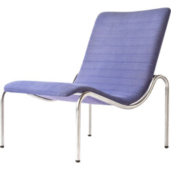 "Mid century Stabin ""703"" easy chair in fabric and metal, Kho LIANG IE - 1960s"