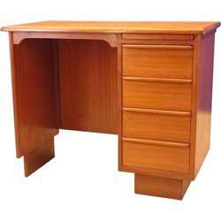 Small Scandinavian teak desk - 1960s