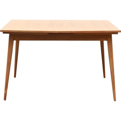 Extendable dining table in walnut - 1960s