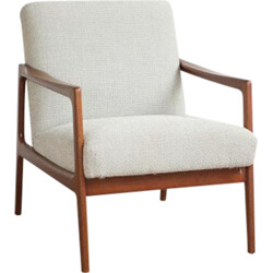 Danish easy chair in teak with new Kvadrat fabric - 1960s