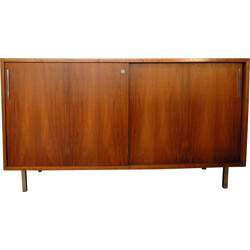 Small mid century sideboard in walnut - 1960s