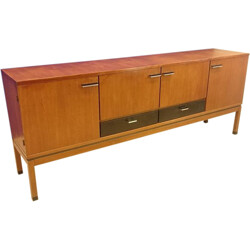 Large Scandinavian sideboard in teak - 1960s