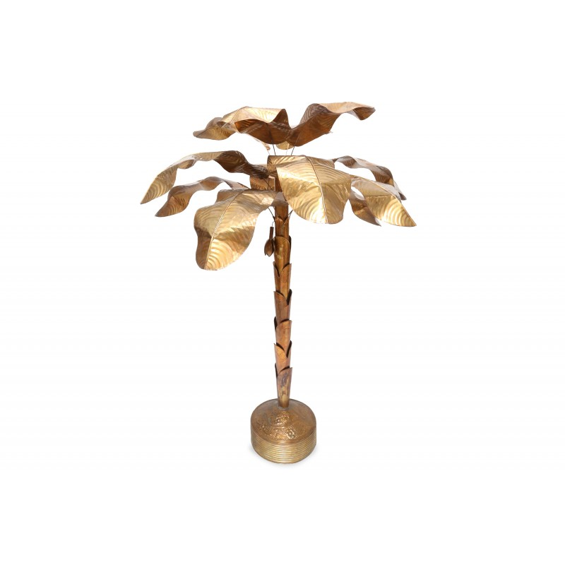 Banana plant palm tree floor lamp 1970s design market banana plant palm tree floor lamp 1970s aloadofball