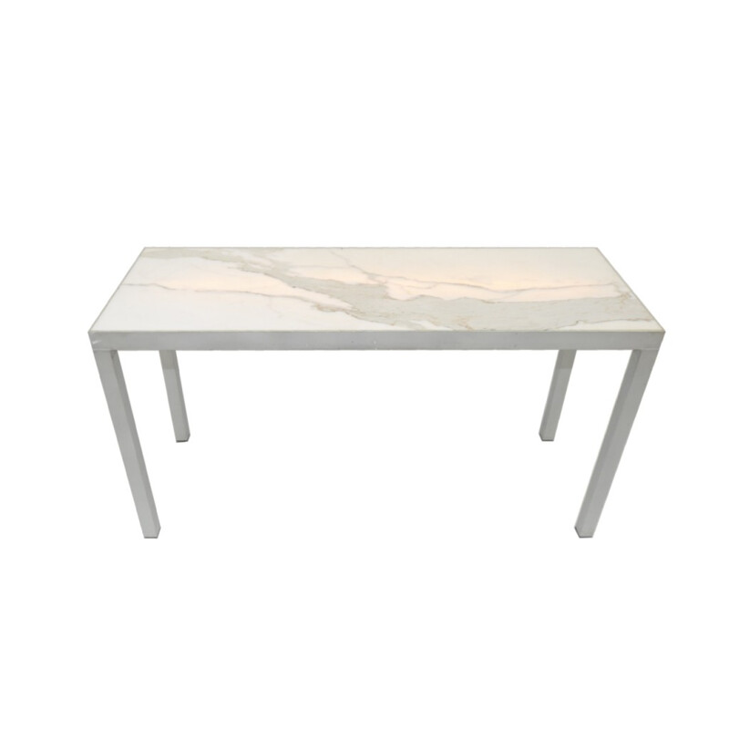 Carrara marble Console, Philippe STARCK - 2000
