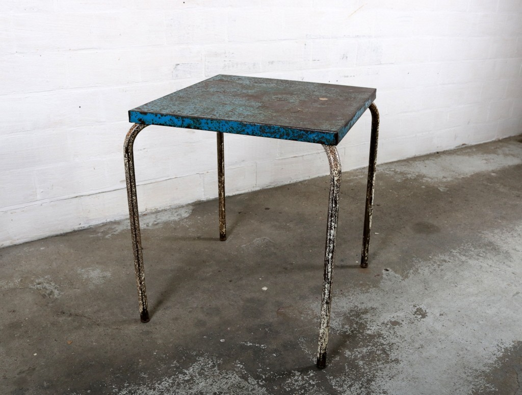 xavier pauchard french industrial dining room furniture. Industrial Tolix Side Table In Metal, Xavier PAUCHARD - 1950s. Previous Next Pauchard French Dining Room Furniture C
