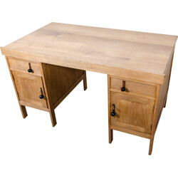 "Dutch ""School of The Hague"" desk in oak - 1930s"