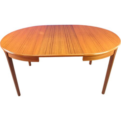 Mid century Scandinavian extendable dining table - 1960s