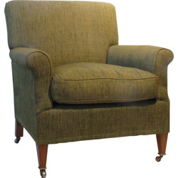 "Lenygon & Morant ""Howard"" armchair in green fabric - 1950s"
