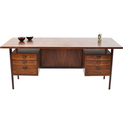 Danish Feldballes Furniture desk in rosewood, Kai KRISTIANSEN - 1960s