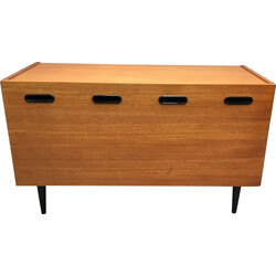 Mid century chest of drawer in teak - 1950s