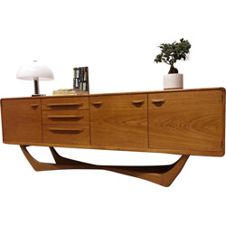 Mid-century Scottish Beithcraft sideboard in teak wood - 1960s