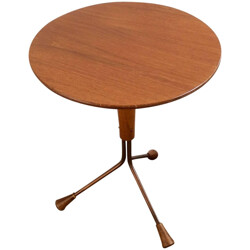 Alberts Tibro mid-century atomic table, Albert LARSSON - 1950s