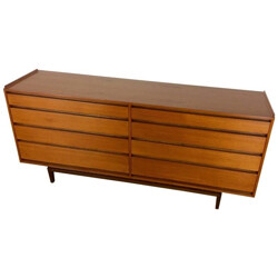 FM Fredericia mid-century lowboy chest of drawers - 1960s