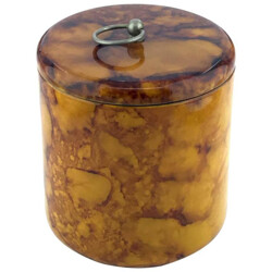 Ice Bucket in bakelite and brass - 1970s