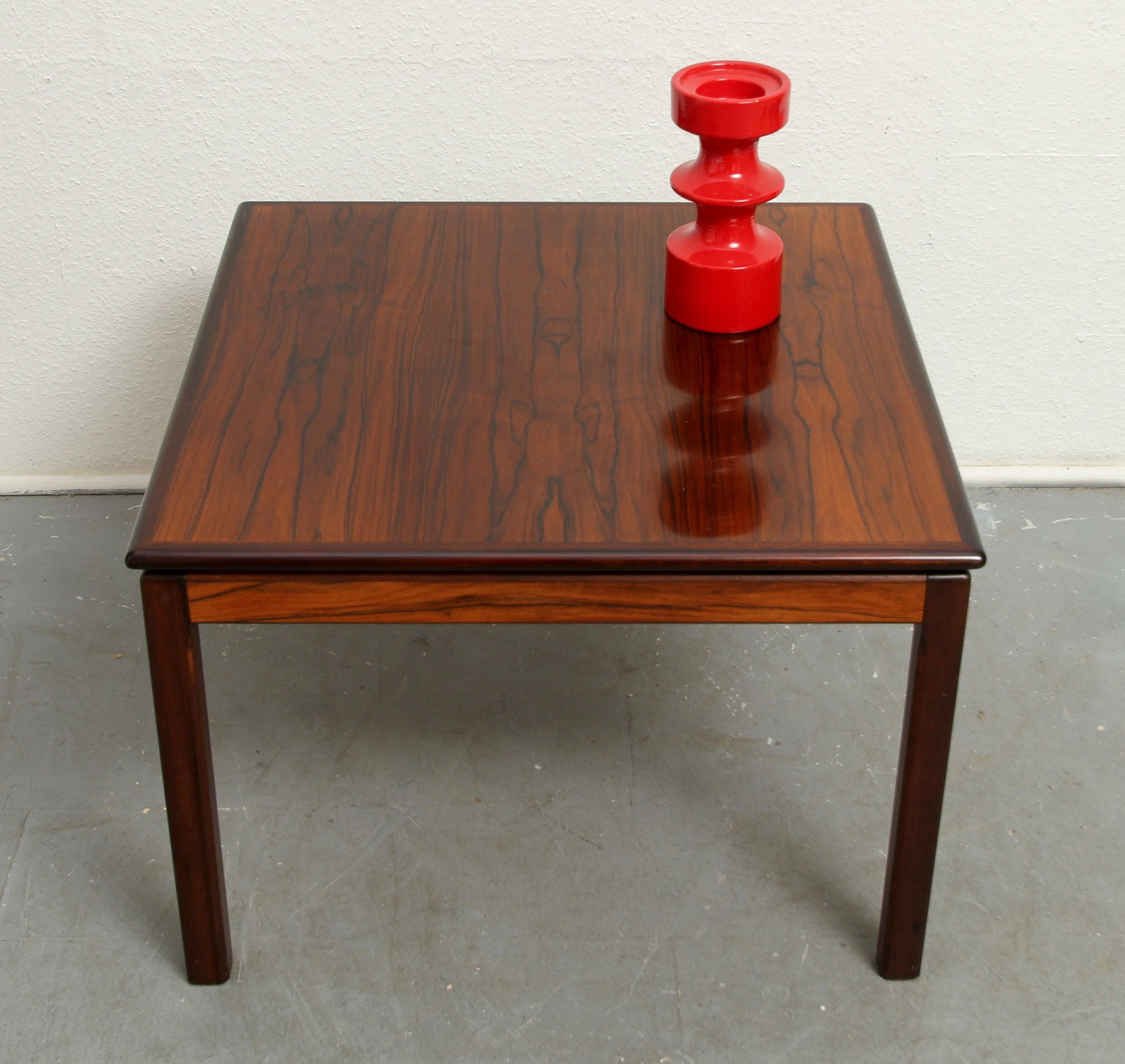 Square Bruksbo Norway Coffee Table In Rosewood 1960s Previous Next