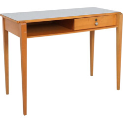 Small Italian vintage desk with laminated top - 1960s