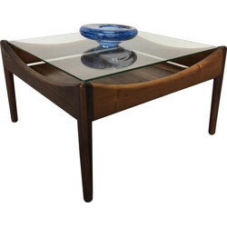 Soren Willadsen Rio rosewood coffee table, Kristian VEDEL - 1960s