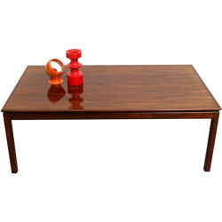 Bruksbo Norway rosewood coffee table - 1960s