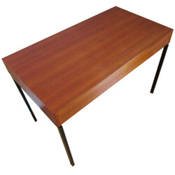 Zingg-Lamprecht desk in teak, Dieter WAECKERLIN - 1960s