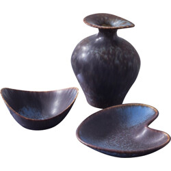 Set of Rörstrand stoneware in ceramic, Gunnar NYLUND - 1950s