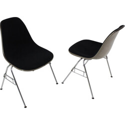 "Pair of Herman Miller ""DSS"" chairs, Charles and Ray EAMES - 1960s"