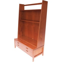 Mid-century dissociable TV stand and shelf - 1950s