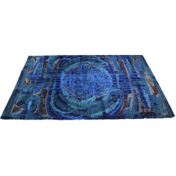 Desso mid-century extra large abstract rug - 1970s