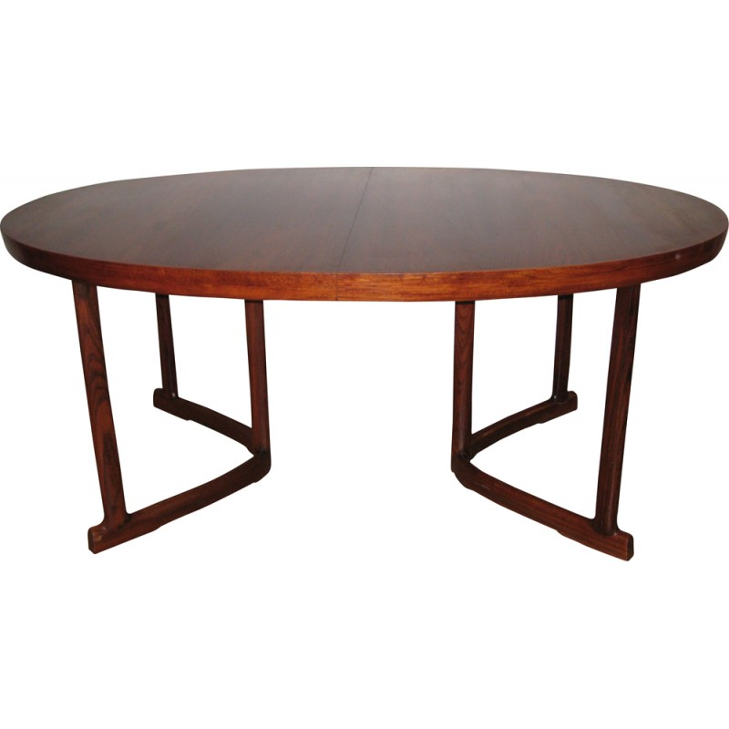 Samcom Rosengaarden Scandinavian Rosewood Dining Room Table