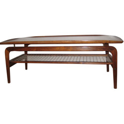Scandinavian rosewood coffee table, Arne HOVMAND OLSEN - 1950s