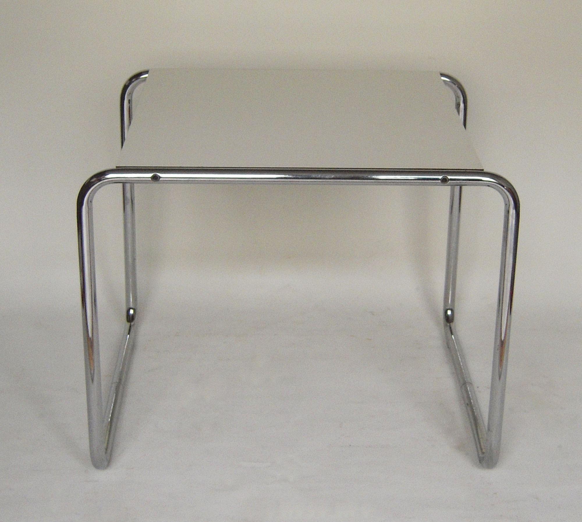 """Gavina """"Laccio"""" coffee table Marcel BREUER 1970s Design Market"""