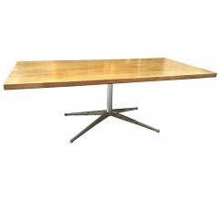 Mid century modern dining table, Florence KNOLL - 1970s