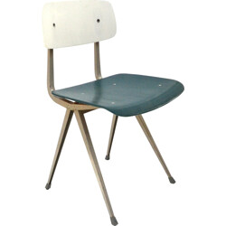 "Ahrend de Cirkel ""Result"" chair in plywood, Friso KRAMER - 1950s"