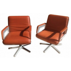 "Wilkhahn ""Delta 2000"" set of two armchairs - 1970s"