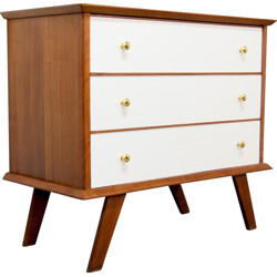 Vintage oak chest of drawers - 1960