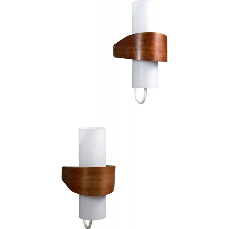 "Appliques Philips philips ""nx40"" wall lights, louis kalff - 1950s - design market"