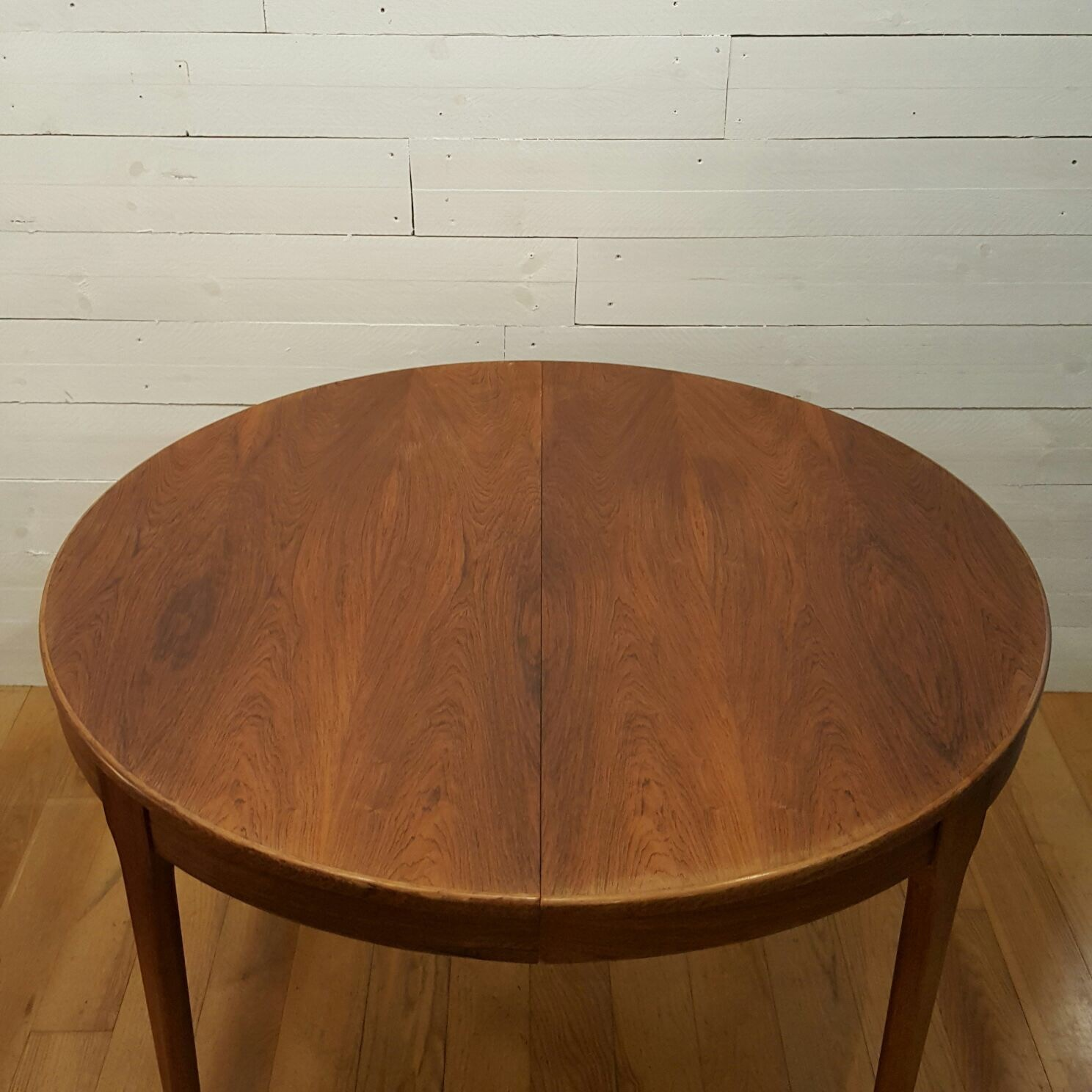Meuble Tv Paris Extensible Round Table In Rosewood 1960s  # Meuble Tv Extensible
