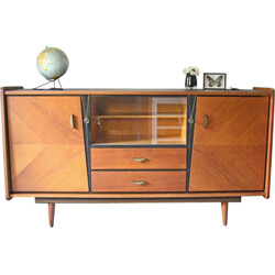 Sideboard in oiled plywood - 1950s