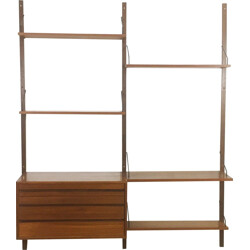 """Royal System"" danish wall unit for CADO, Poul CADOVIUS - 1960s"