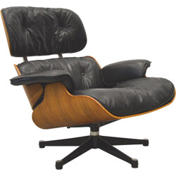 "Herman Miller rosewood ""lounge"" chair, Charles and Ray EAMES - 1960s"