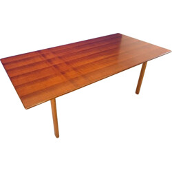 Scandinavian dining table in Rio rosewood - 1950s